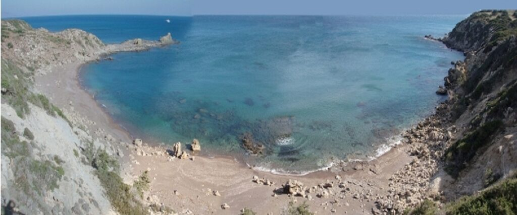 Plot of land by the sea in Rhodes