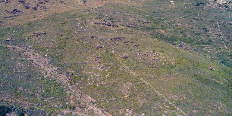 Άνδρος, έκταση αγροτεμάχιο, στον Χάρακα, Γαύριο