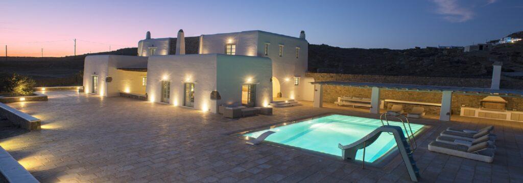 Villa of unique beauty in Mykonos island