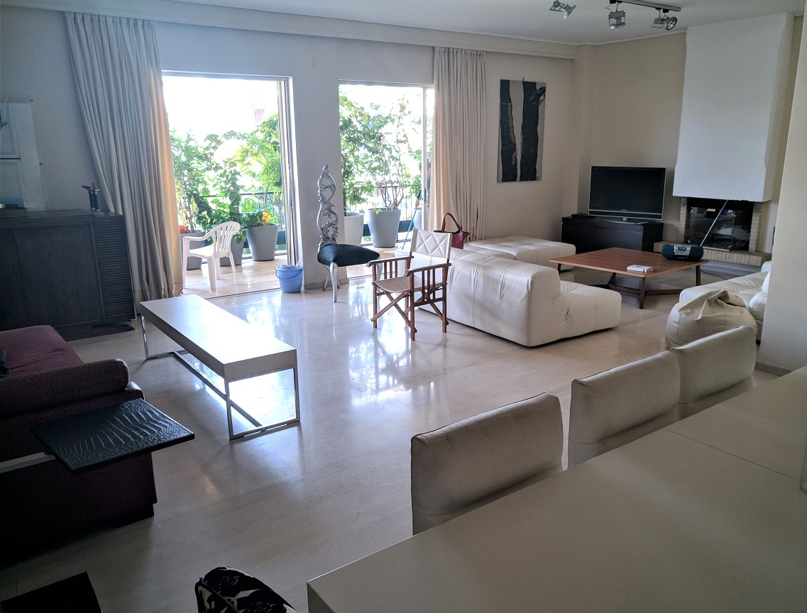 Penthouse Apartment in Glyfada, for Rent