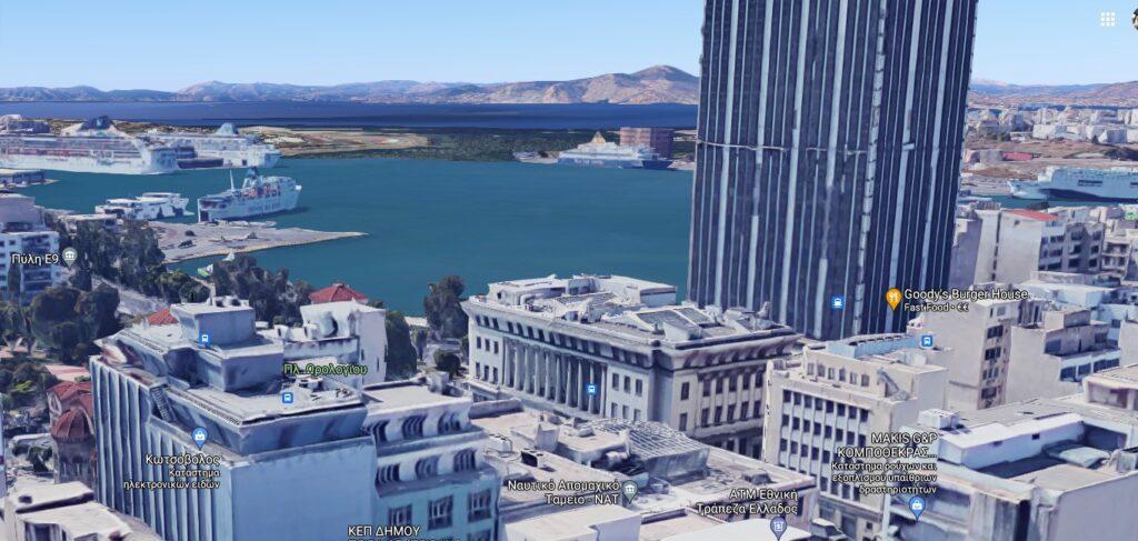 Προνομιακό οικόπεδο στο Λιμάνι του Πειραιά