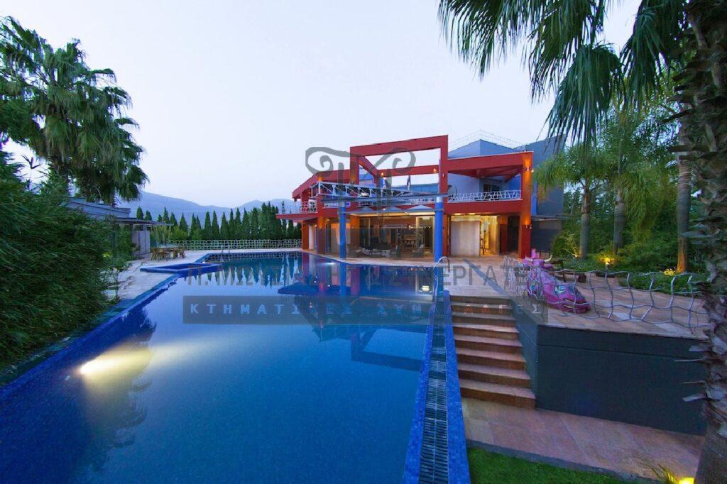 Luxurious Villa of unique beauty in Evia