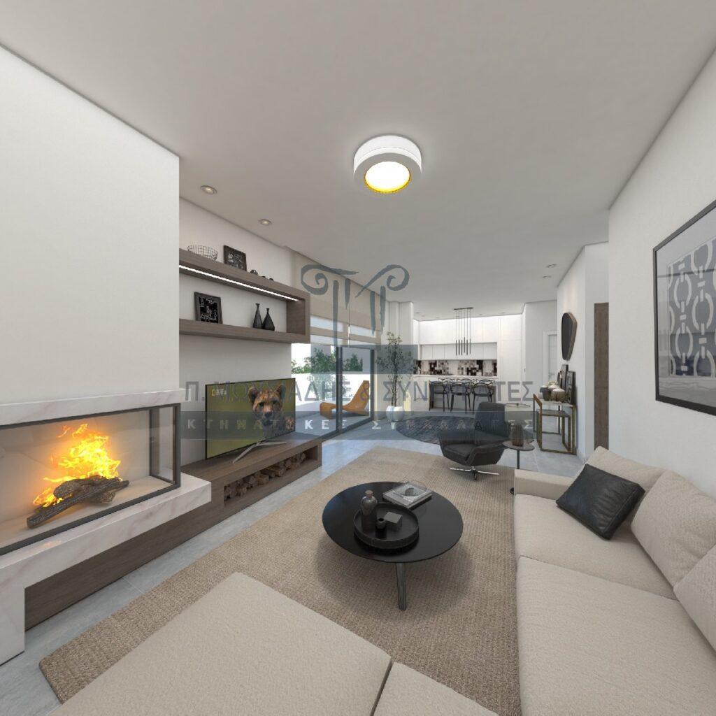 Οροφοδιαμέρισμα υπό κατασκευή στον Άλιμο